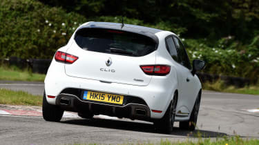 Renault Clio RS 220 Trophy - rear action
