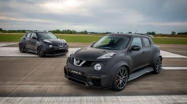 Nissan Juke-R old vs new raised
