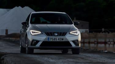 SEAT Ibiza diesel - front dusk