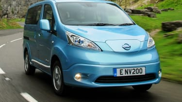 A to Z guide to electric cars - Nissan e-NV200