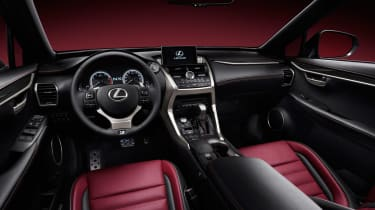 Lexus NX revealed interior