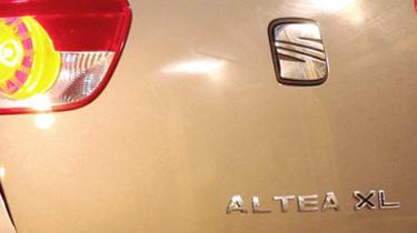 SEAT Altea XL badge