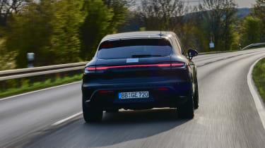Porsche Macan prototype - rear action