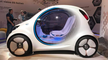 Smart Vision EQ ForFour concept - reveal side