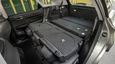 Lexus RX L - back seats down