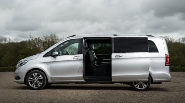 Mercedes V-Class - profile static/sliding door