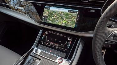 Audi SQ7 - centre console