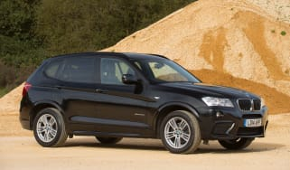 Used BMW X3 - front