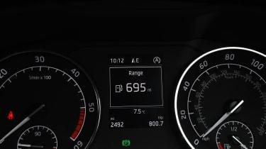 Skoda Superb long-term test - range