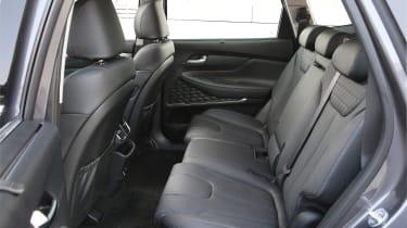 New Hyundai Santa Fe - rear seats