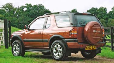 Top 10 worst cars - Vauxhall Frontera rear quarter