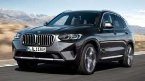 BMW X3 - front tracking