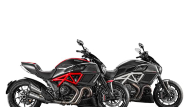 Ducati Diavel review - pair parked