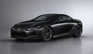 Lexus LC Black Inspiration - front