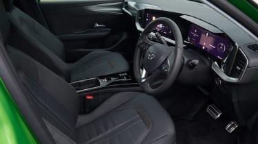 Vauxhall Mokka-e - front seats