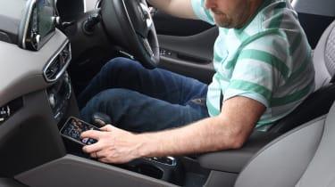 Hyundai Santa Fe - long-term first report interior