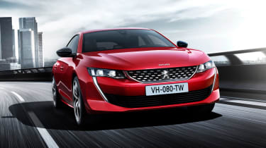 New Peugeot 508 - front