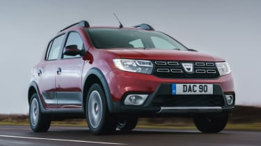Dacia Sandero Stepway Techroad - front