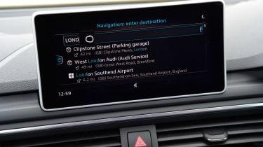 Audi A4 long-term test - screen