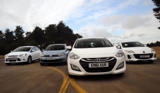 Hyundai i30 vs rivals