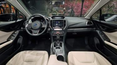 Subaru Impreza 2016 - show interior