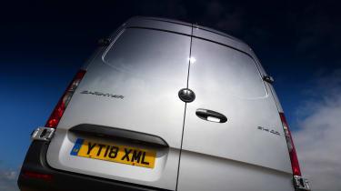 Mercedes Sprinter Van of the Year 2018 doors