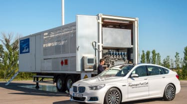 BMW 5 Series GT Hydrogen Fuel Cell - static