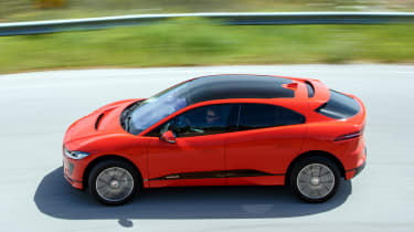 Jaguar I-Pace - side action