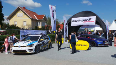 Worthersee tuning firm stands