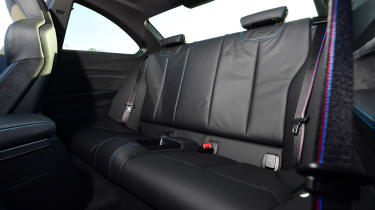 bmw m2 competition rear seats