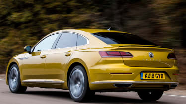 volkswagen arteon tracking rear