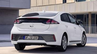 Hyundai Ioniq Plug-in - rear static