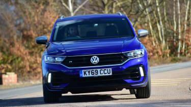 Volkswagen T-Roc R - front cornering