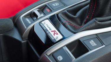 New Honda Civic Type R - interior detail