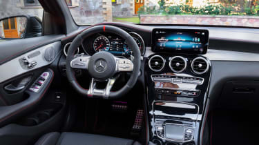 Mercedes-AMG GLC 43 Coupe 2019 facelift interior
