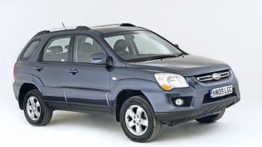 Kia Sportage Mk2 (used) - front
