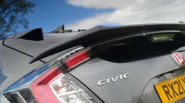 Honda Civic Type R Sport Line - rear badge