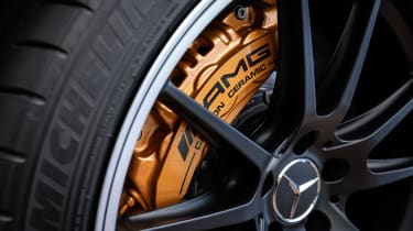 Mercedes-AMG C 63 S Coupe - wheel detail
