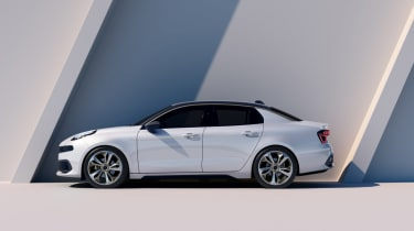 lynk and Co 03 concept saloon car side
