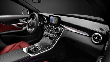 Mercedes C-Class interior leaked