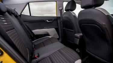 Kia Stonic UK review - back seats