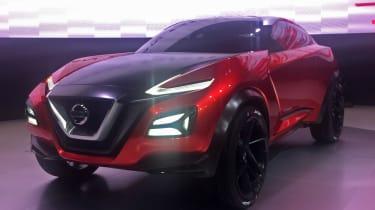 Nissan Gripz concept revealed - front