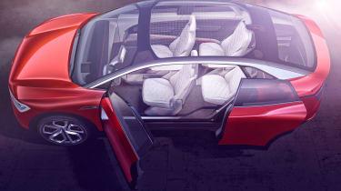 Volkswagen I.D. Crozz II - seats
