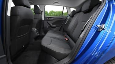 Skoda Scala rear seats