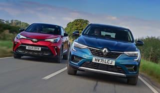 Renault Arkana vs Toyota C-HR