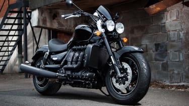 Triumph Rocket III - Limited Edition Rocket X - front
