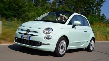 Fiat 500C 2015 front