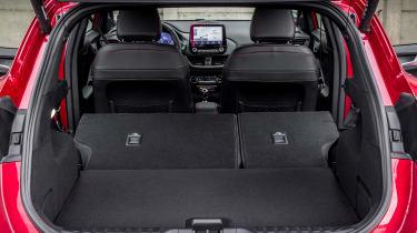 Ford Puma - boot seats down