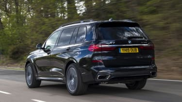 BMW X7 - rear tracking