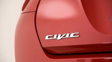 Honda Civic Mk9 - badge detail